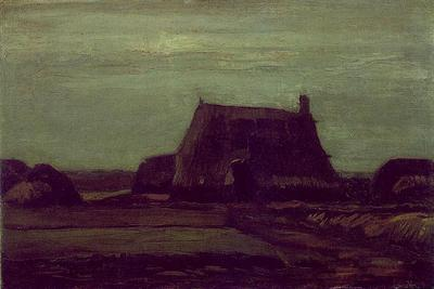 Farm with Stacks of Peat