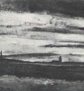 Landscape with a Church at Twilight