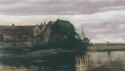 water mill at gennep version