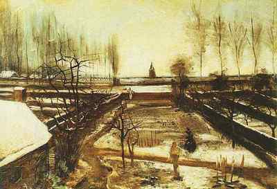 Parsonage Garden at Nuenen in the Snow, The