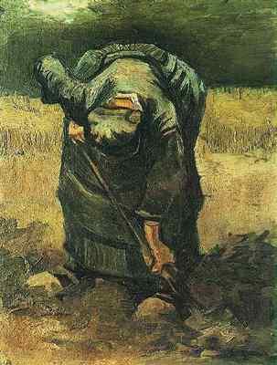 peasant woman digging version