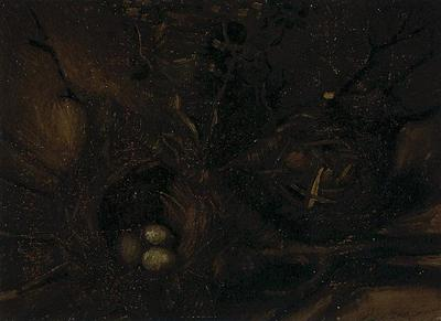 Still Life with Birds Nests
