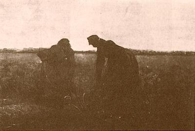 Two Peasant Women Digging