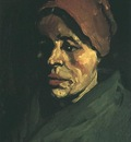 Head of a Peasant Woman with Brownish Cap
