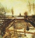 Parsonage Garden at Nuenen in the Snow, The