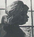 Peasant Woman, Seen against the Window