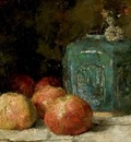Still Life with Ginger Jar and Apples