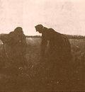 Two Peasant Women Digging