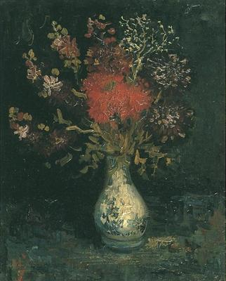 87 Vase with Flowers