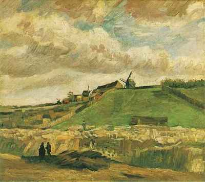 Hill of Montmartre with Quarry, The