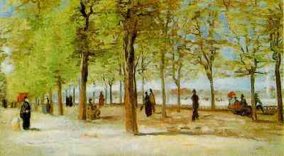 Lane at the Jardin du Luxembourg