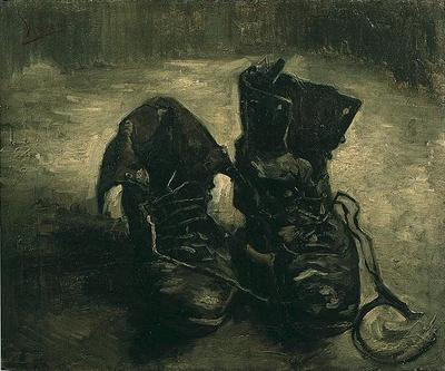 pair of shoes, a version