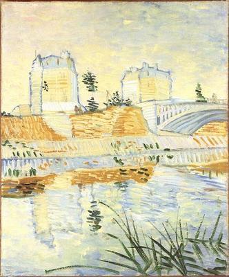Seine with the Pont de Clichy, The