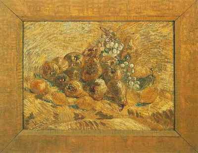 Still Life with Grapes, Pears and Lemons