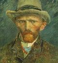 87 Self Portrait with Grey Felt Hat