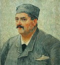 87 or 1887 88 Portrait of a Man with a Skull Cap