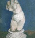 plaster statuette of a female torso version