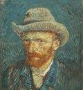 88 Self Portrait with Grey Felt Hat