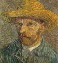 88 Self Portrait with Straw Hat