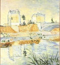 Seine with the Pont de Clichy, The