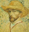 self portrait with straw hat version