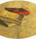 Still Life with Three Books