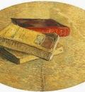 Still Life with Three Books