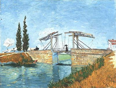 langlois bridge at arles, the version