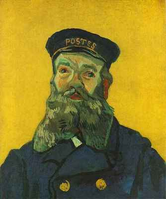 portrait of the postman joseph roulin version