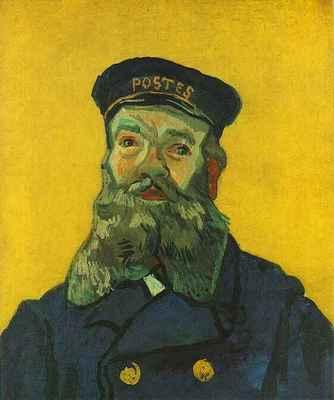 portrait of the postman joseph roulin version