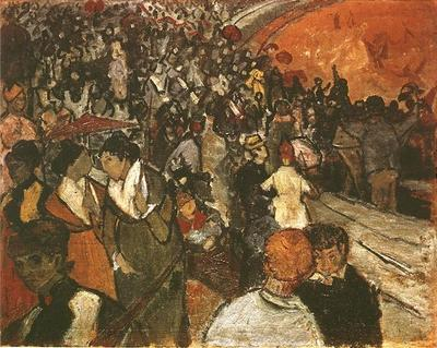 Spectators in the Arena at Arles
