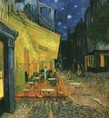 Cafe Terrace on the Place du Forum, Arles, at Night, The
