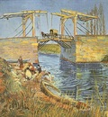 Langlois Bridge at Arles with Women Washing, The