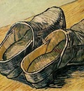 Pair of Leather Clogs, A