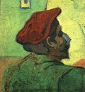 Paul Gauguin Man in a Red Beret