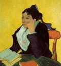 or 1889 LArlesienne Madame Ginoux with Books