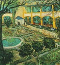Courtyard of the Hospital at Arles, The