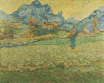 Meadow in the Mountains Le Mas de Saint Paul, A