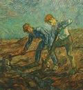 Two Peasants Digging