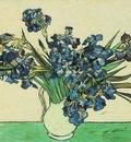 Still Life Vase with Irises
