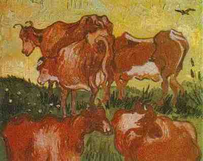 Cows after Jordaens