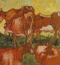 Cows after Jordaens