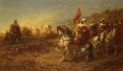 Adolf Schreyer The Ambush