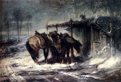 Adolf Schreyer Wallachian Blizzard