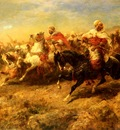 Adolf Schreyer Arabian Horsemen