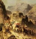 Alberto Pasini An Arab Caravan