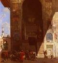 Alberto Pasini Halte A La Mosquee