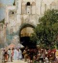 Alberto Pasini Market Day Constantinople