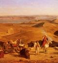 Alberto Pasini The Desert Encampment