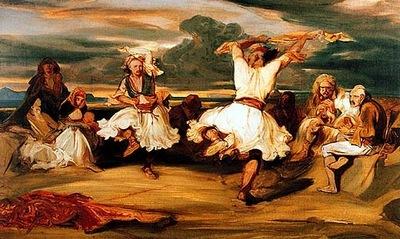 Alexandre Gabriel Decamps Albanian Dancers